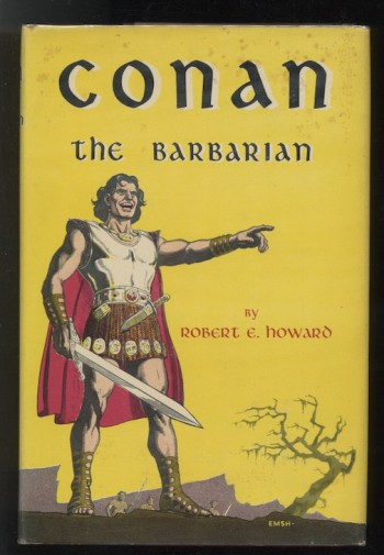 Image for ROBERT E. HOWARD: CONAN THE BARBARIAN—Gnome Press, 1954. First edition.   One of four Gnome Press Conan's available.