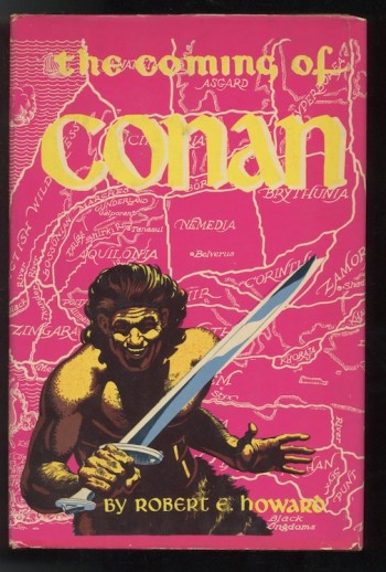 Image for ROBERT E. HOWARD: THE COMING OF CONAN.  Gnome Press, 1953. First Edition.