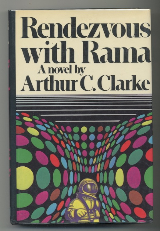 Image for RENDEZVOUS WITH RAMA.  Harcourt Brace Jovanovich, Inc., New York, 1973. First American Edition. Lovely copy.