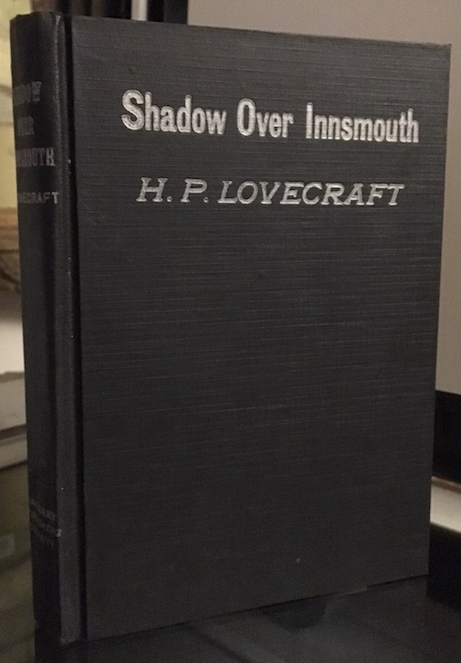 Image for THE SHADOW OVER INNSMOUTH.  Visionary Publishing, Everett, PA. 1936.