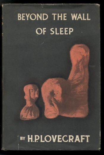Image for H.P. LOVECRAFT: BEYOND THE WALL OF SLEEP.  Arkham House, 1944. [First Edition], [1217 copies printed].
