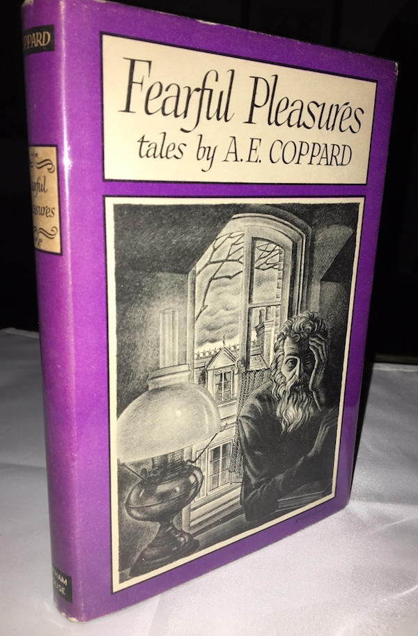 Image for A.E. COPPARD:FEARFUL PLEASURES—Scarce Book Club Edition! The Richard M. Jefts, Arkham House Collection