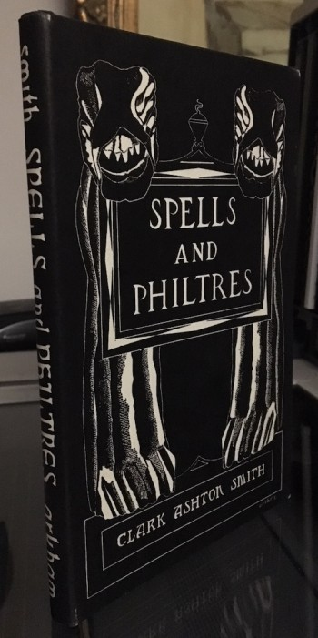Image for SPELLS and PHILTRES—PRESENTATION COPY!  Arkham House, 1958. [519 copies printed].SIGNED, inscribed the month and year of publication.