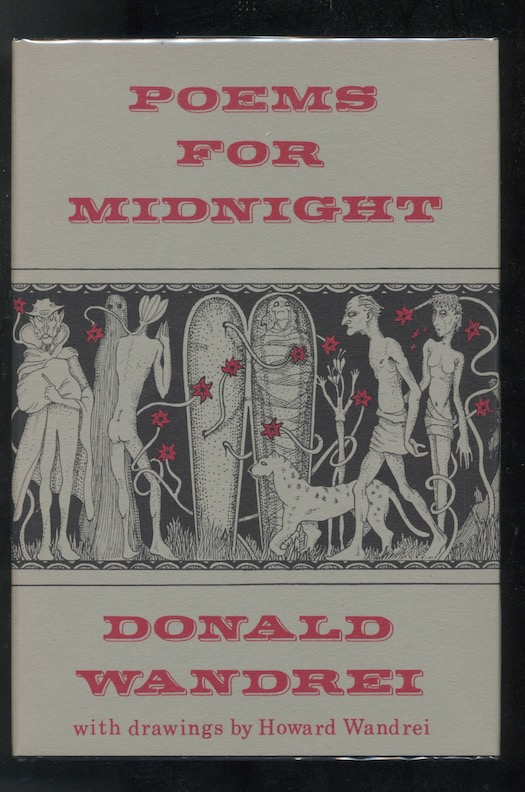 Image for DONALD WANDREI: POEMS FOR MIDNIGHT—Arkham House, 1964. [First edition], [742 copies printed]. Signed!