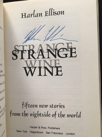 Image for HARLAN ELLISON: STRANGE WINE—Harper & Row, 1978. First Edition. SIGNED by author.