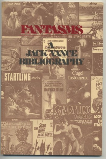 Image for FANTASMS: A Jack Vance Bibliography