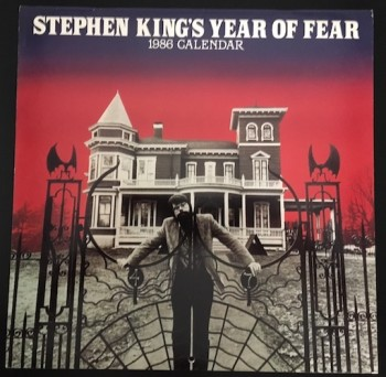 Image for STEPHEN KING'S YEAR OF FEAR 1986 CALENDAR