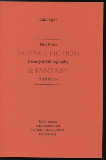 Image for CATALOG 17: Fine Press, History & Bibliography, High Spots
