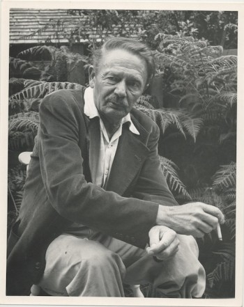 Image for ORIGINAL PHOTO OF CLARK ASHTON SMITH by the noted photographer,  WYNN BULLOCK (1902-1975)