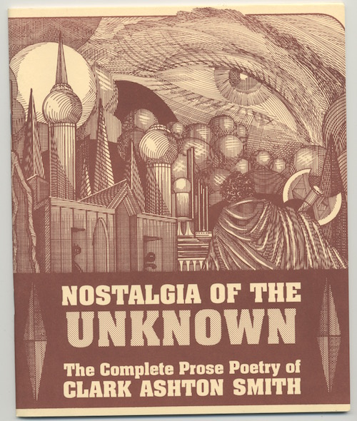 Image for NOSTALGIA OF THE UNKNOWN Complete Prose Poems