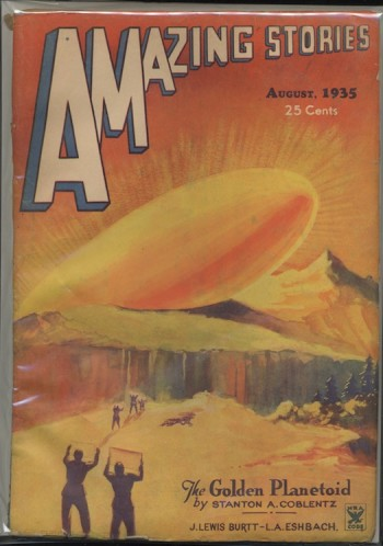 Image for AMAZING STORIES. 1935, Aug.