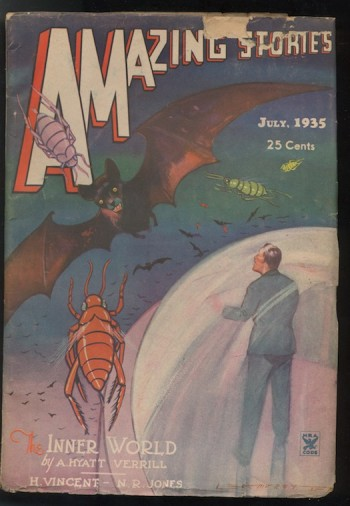 Image for AMAZING STORIES.  1935, July.