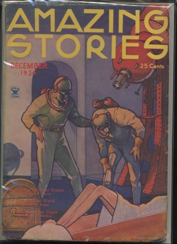 Image for AMAZING STORIES. 1934, DEC.