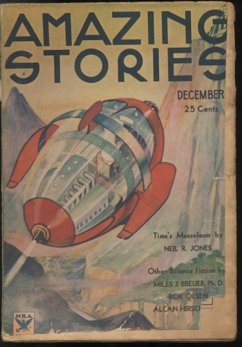 Image for AMAZING STORIES.  1933, Dec.