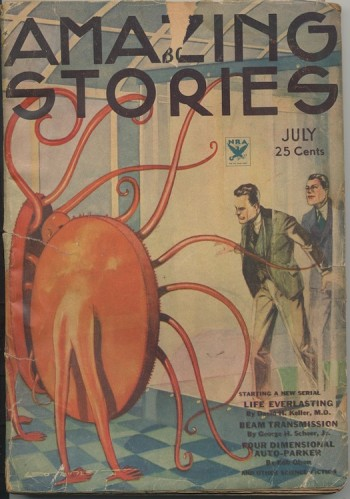 Image for AMAZING STORIES.  1934, July/August—LIFE EVERLASTING—Complete!