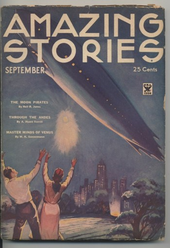 Image for AMAZING STORIES. 1934, September—THE PLUTONIAN DRUG