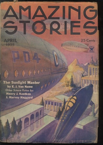 Image for AMAZING STORIES.  1935, April