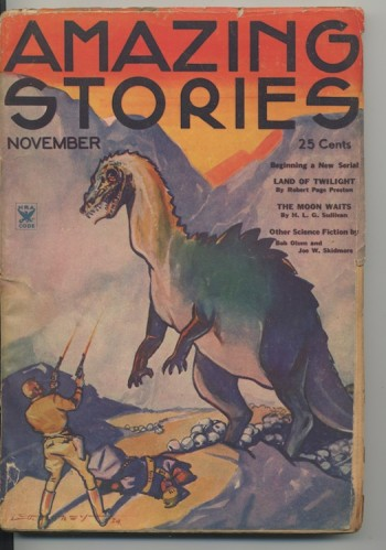 Image for AMAZING STORIES. 1934, November.