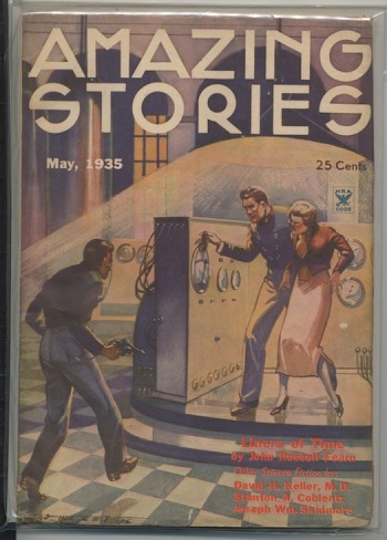 Image for AMAZING STORIES. 1935, May.—DAVID H. KELLER—The White City.