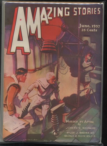Image for AMAZING STORIES.  1937, June.