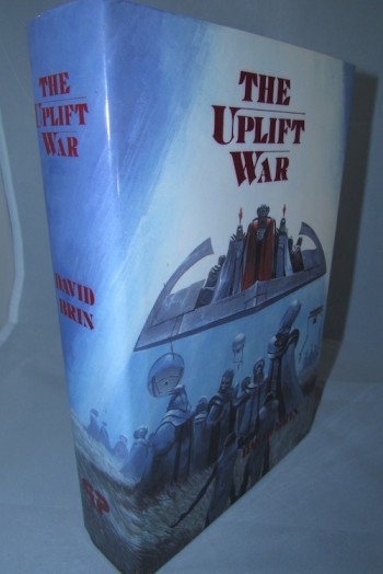 Image for THE UPLIFT WAR: Phantasia Press, 1987. First Edition.  1988 Hugo and Locus Award Winner.