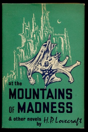 Image for H.P. LOVECRAFT: AT THE MOUNTAINS OF MADNESS & other novels. Arkham House, 1964, [First Edition Thus].