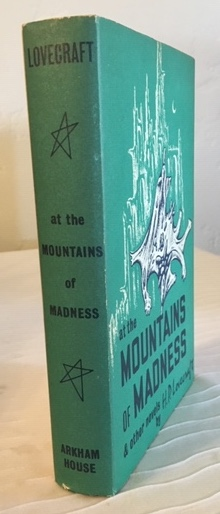 Image for H.P. LOVECRAFT: AT THE MOUNTAINS OF MADNESS & other novels. Arkham House. 1964. [First Edition], [3552 copies].