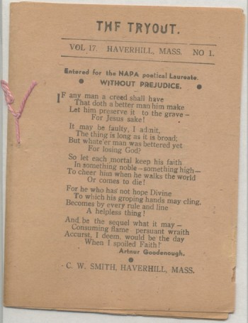 Image for THE TRYOUT. 1935. Vol. 17, No. 1 (April)