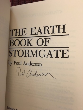 Image for THE EARTH BOOK OF STORMGATE—Berkeley/Putnam, 1978. 1st Edition. Signed by author.