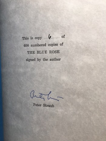 Image for  THE BLUE ROSE— Underwood/Miller, 1985.  Copy #6 of 600 Signed, Numbered and Slipcased.