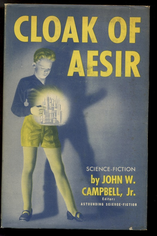 Image for CLOAK OF AESIR.  Shasta Publishers, Chicago, 1952. First edition.