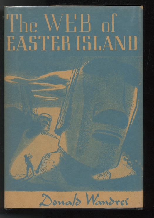 Image for THE WEB OF EASTER ISLAND. Arkham House, Sauk City, 1948. [First edition]. signed by the author.
