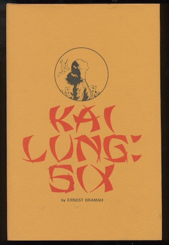Image for KAI LUNG: SIX. Non-Profit Press, Tacoma, Washington, 1974.  [First Edition, limited to 250 numbered copies].