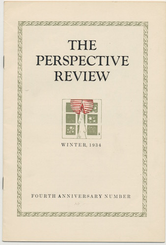 Image for THE PERSPECTIVE REVIEW.