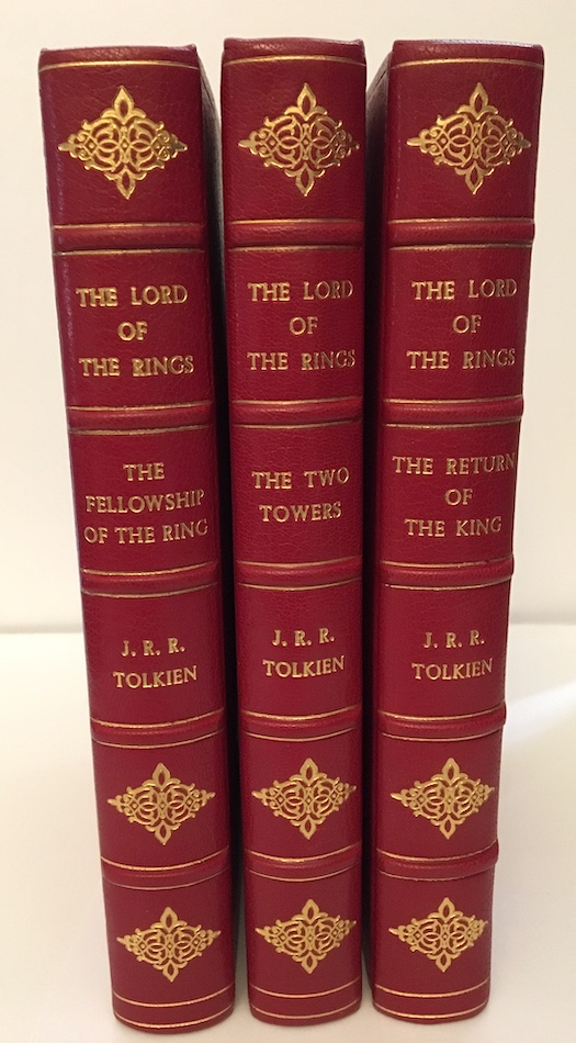 Image for THE LORD OF THE RINGS TRILOGY. George Allen & Unwin, Ltd.,, London, 1954-1955.  [First editions].