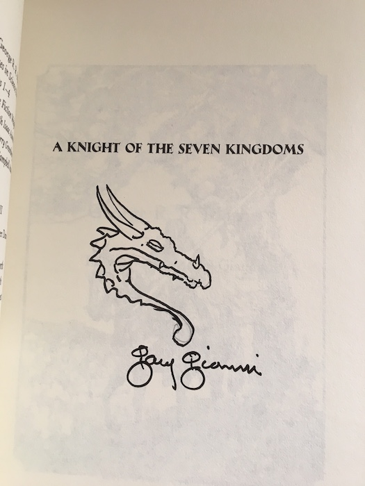 Image for A KNIGHT OF THE SEVEN KINGDOMS. Bantam Books, New York, 2015.  First edition. Signed by the artist.