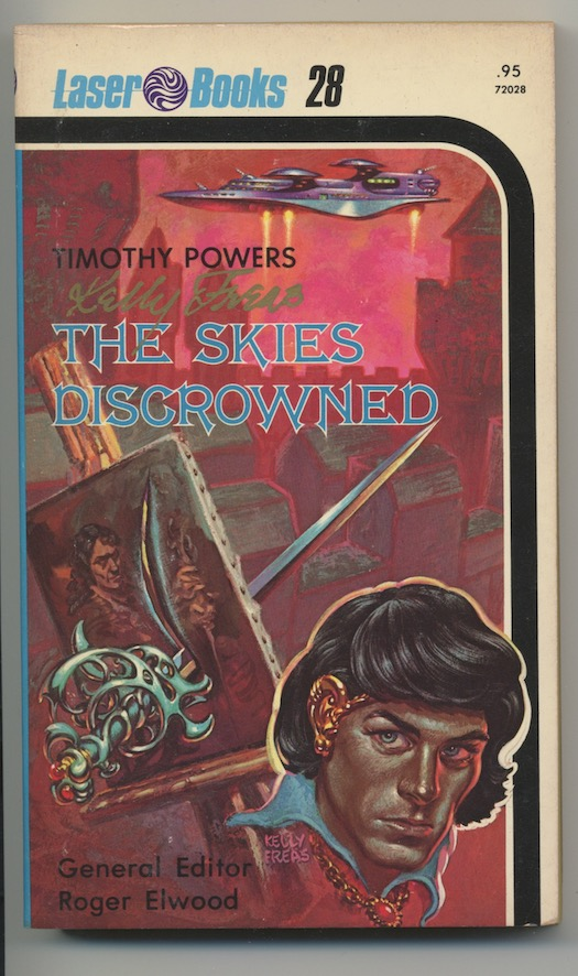 Image for THE SKIES DISCROWNED.  Laser Books, Toronto, 1976.  First printing.  The author's first book.  Signed by author and artist.