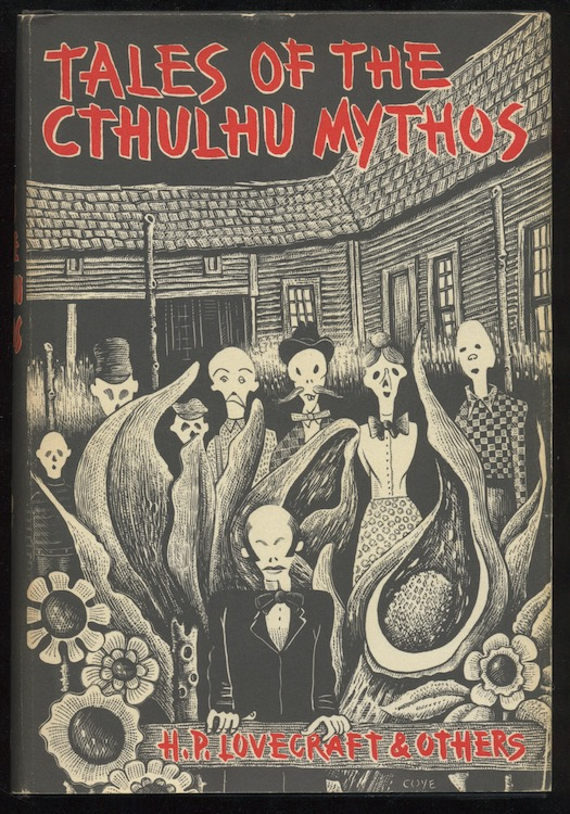 Image for TALES OF THE CTHULHU MYTHOS.  Arkham House, 1969. [First edition]. [4024 copies].
