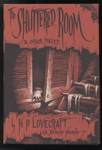 Image for THE SHUTTERED ROOM. Arkham House, 1959.  [First edition], [2557 copies].