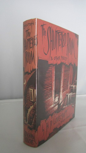 Image for H.P. LOVECRAFT: THE SHUTTERED ROOM!