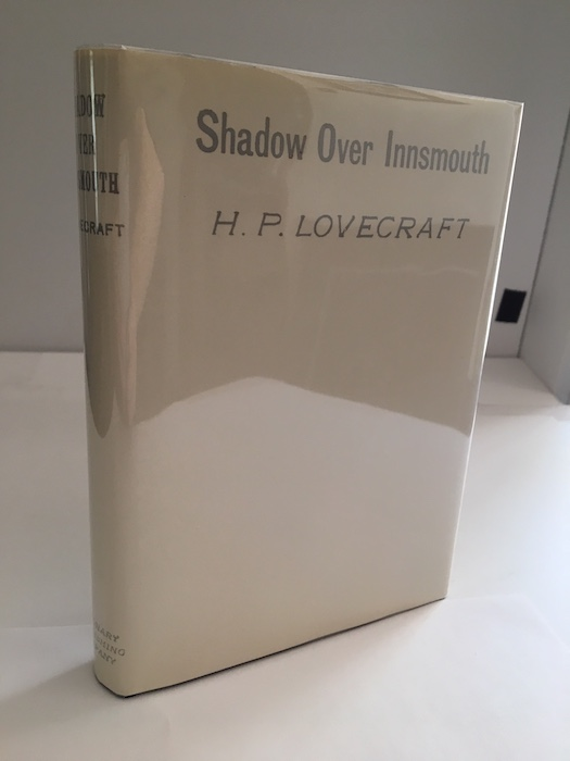 Image for THE SHADOW OVER INNSMOUTH.  Visionary Press, Pa., 1936. First edition. [200 bound copies]