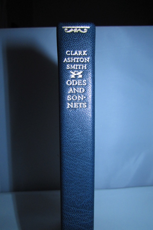 Image for CLARK ASHTON SMITH: ODES AND SONNETS, 1918. 200 NUMBERED copies. In deluxe Traycase!