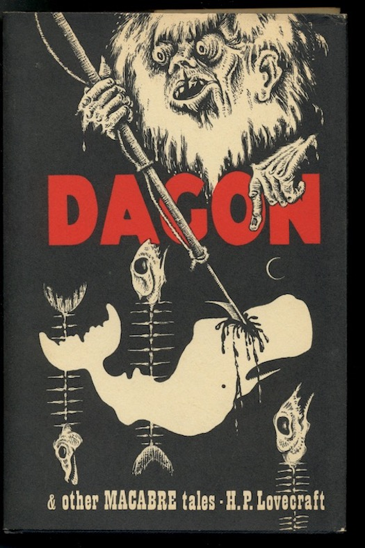 Image for DAGON & Other Macabre tales. Arkham House, Sauk City, 1965. [First Edition defined by thirteen alternating headbands].