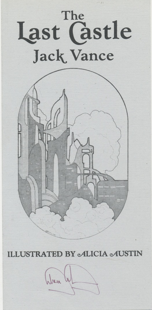 Image for THE LAST CASTLE. Underwood/Miller, San Francisco/Columbia, PA. 1980. First edition. 1000 copies.