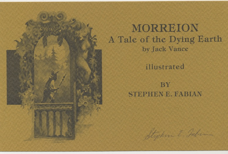 Image for MORREION. Underwood/Miller, San Francisco/Columbia, PA.  First edition.1000 copies