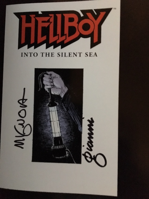 Image for HELLBOY INTO THE SILENT SEA. Dark Horse Comics, Milwaukie, OR. First edition. Signed by Mignola & Gianni.