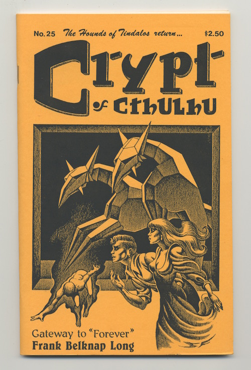 Image for CRYPT OF CTHULHU, #25. Vol. 3, No. 9. Michalmas 1984.