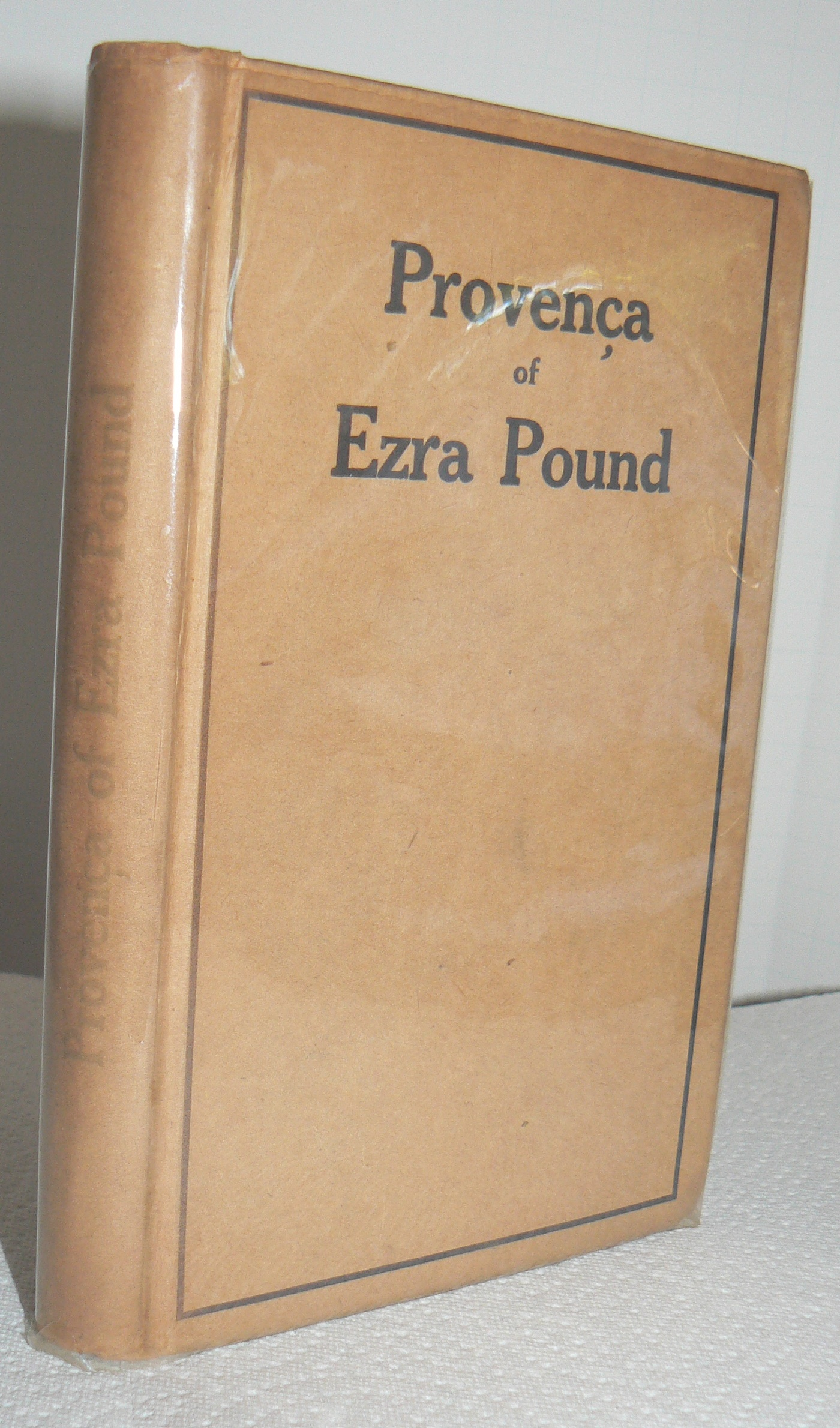 Image for PROVENCA of EZRA POUND