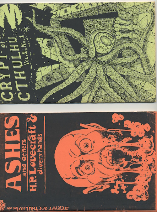 Image for (H.P. LOVECRAFT) CRYPT OF CTHULHU Edited by Robert M. Price: 1st 85 issues!