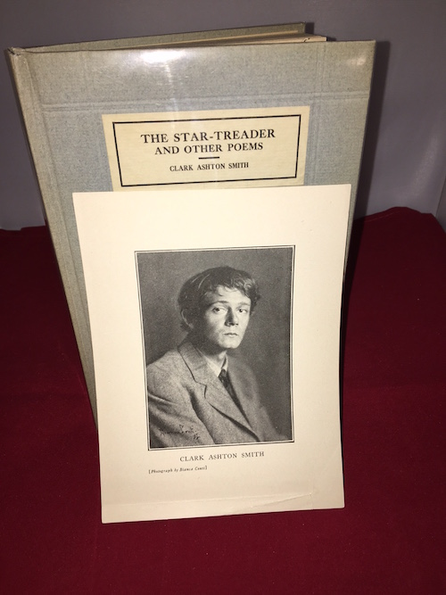 Image for CLARK ASHTON SMITH: THE STAR-TREADER & Other Poems with Bianca Conti portrait,. The author's first book in its scarcest state!